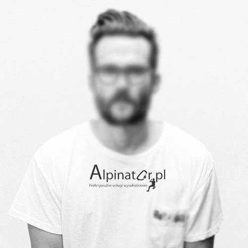 pracownik alpinator